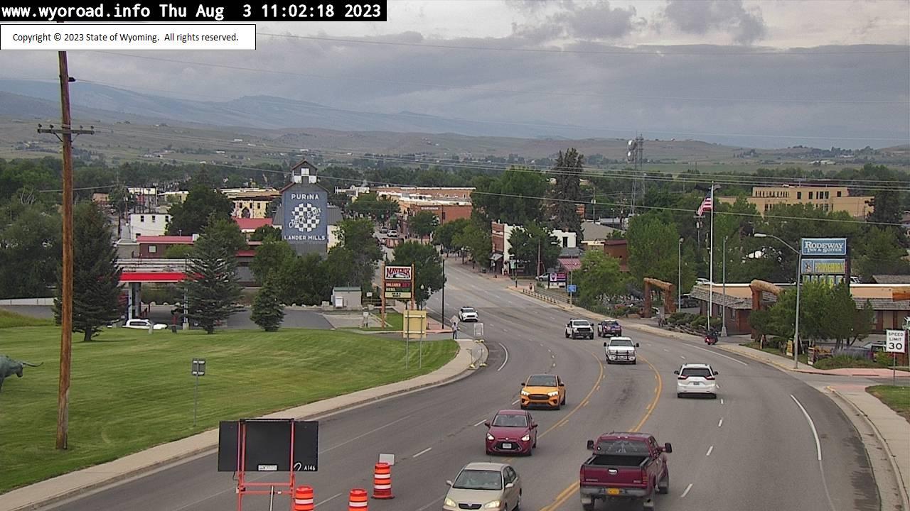Lander, Wyoming Thu. 11:04