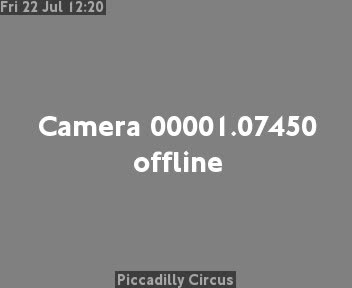 Webcam London Traffic Piccadilly Circus