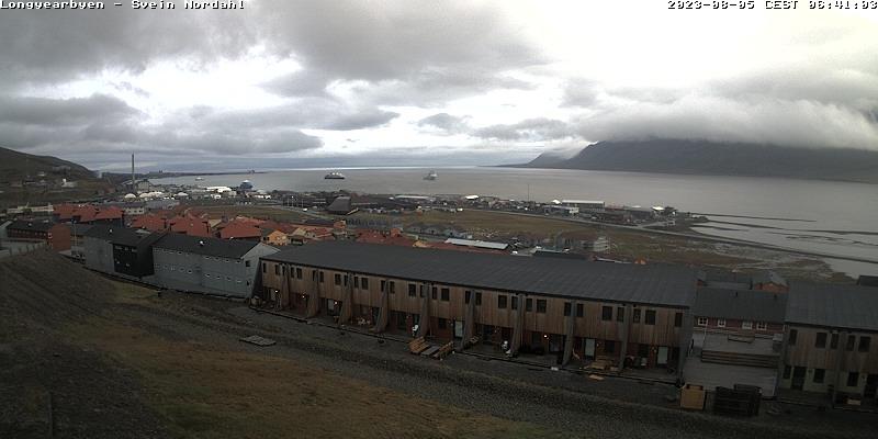 Longyearbyen (Spitsbergen) Sat. 06:54