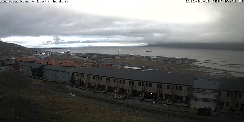 Longyearbyen (Spitsbergen) Sat. 07:54