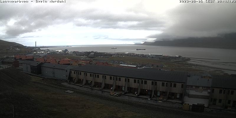 Longyearbyen (Spitsbergen) Sat. 08:54