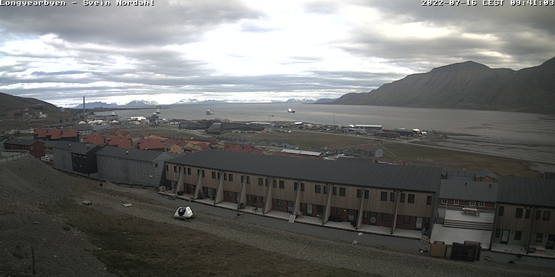 Longyearbyen (Spitsbergen) Sat. 09:54