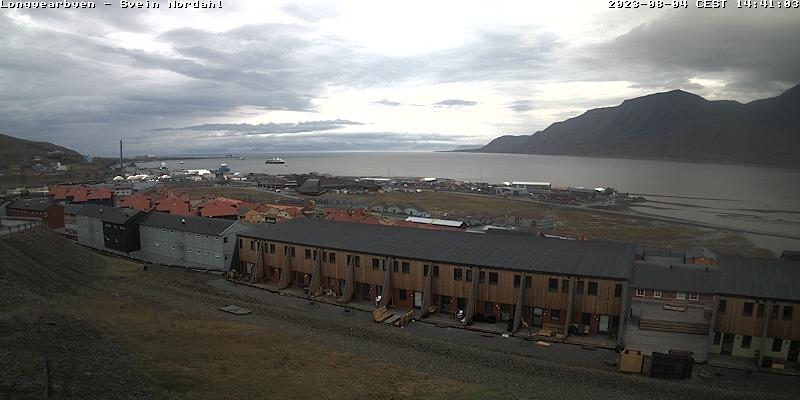 Longyearbyen (Spitsbergen) Fri. 14:54