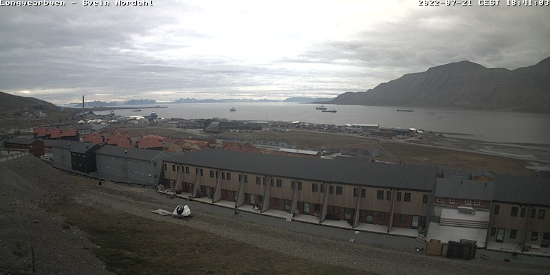 Longyearbyen (Spitsbergen) Fri. 18:54
