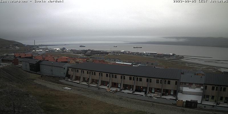 Longyearbyen (Spitsbergen) Fri. 19:54