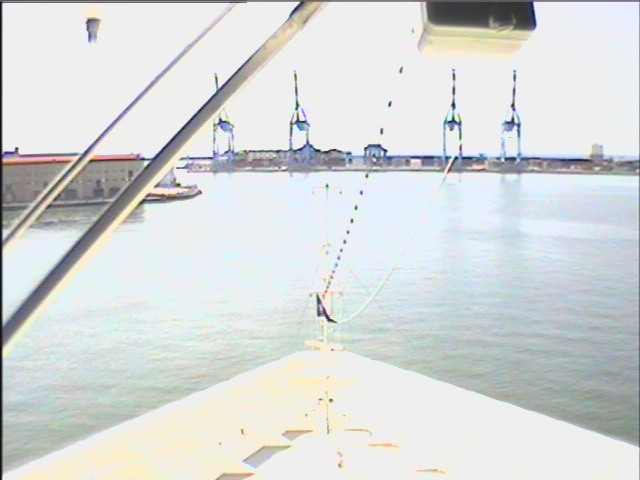 Live Webcam Msc Opera View Over The Bow