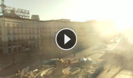 Madrid puerta del sol tio pepe webcam galore - Webcam puerta del sol ...