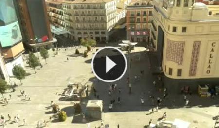 Webcam madrid plaza del callao - Webcam puerta del sol ...