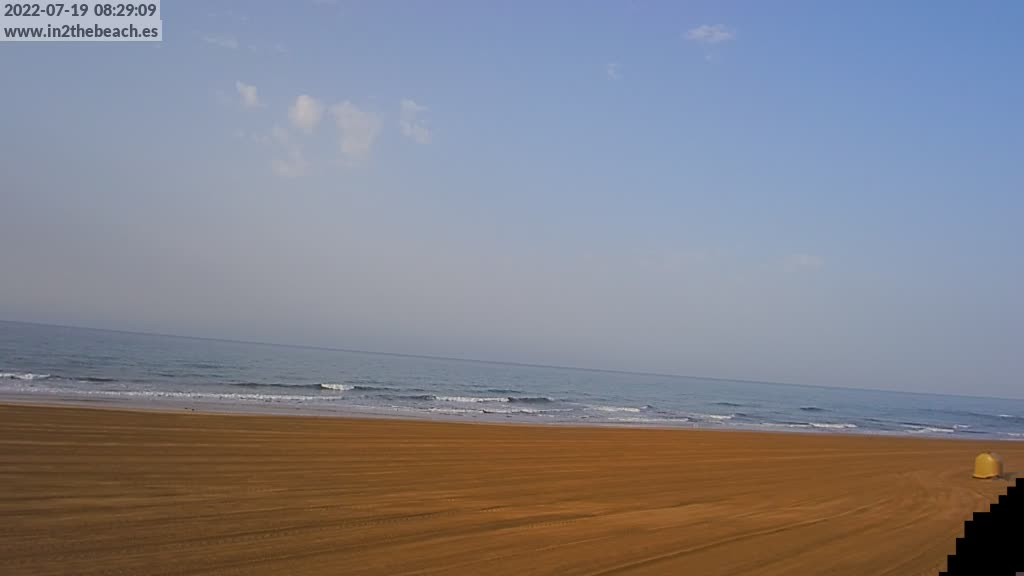 Maspalomas (Gran Canaria) Fri. 08:35