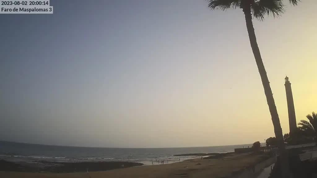Maspalomas (Gran Canaria) Tue. 20:35