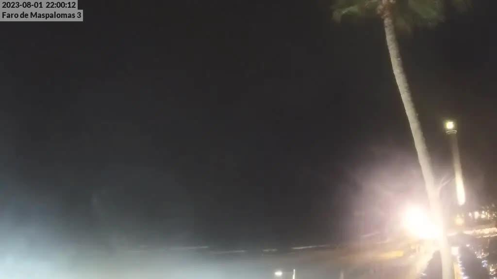 Maspalomas (Gran Canaria) Tue. 22:35