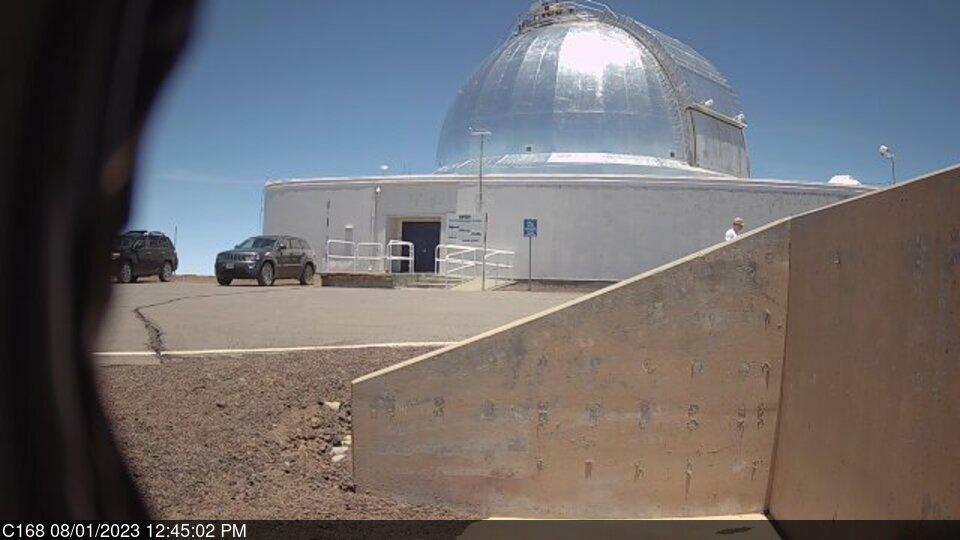 Webcam Mauna Kea Hawaii Nasa Infrared Telescope Facility