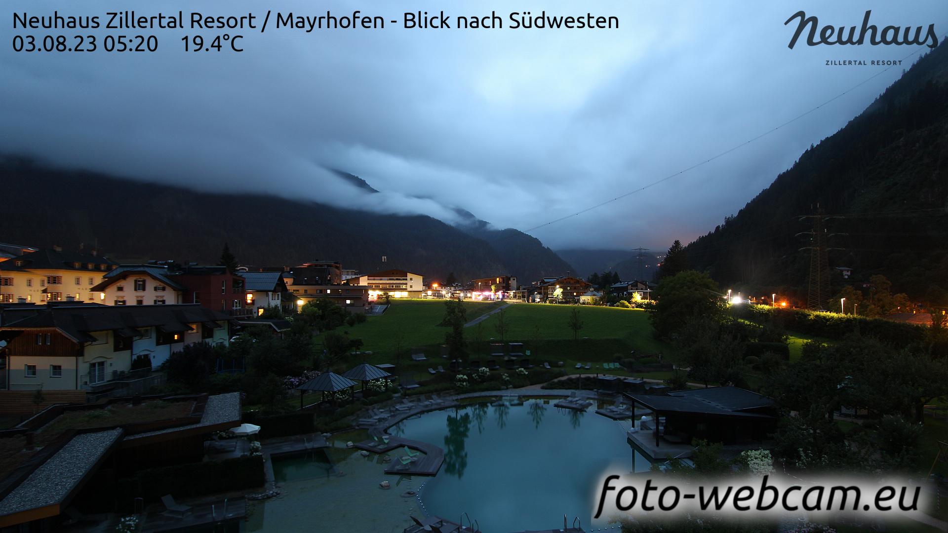 Mayrhofen Mon. 05:33