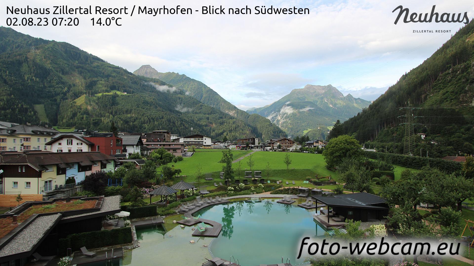 Mayrhofen Mon. 07:33