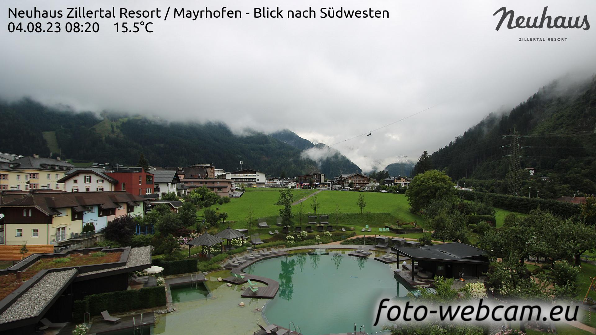 Mayrhofen Mon. 08:33