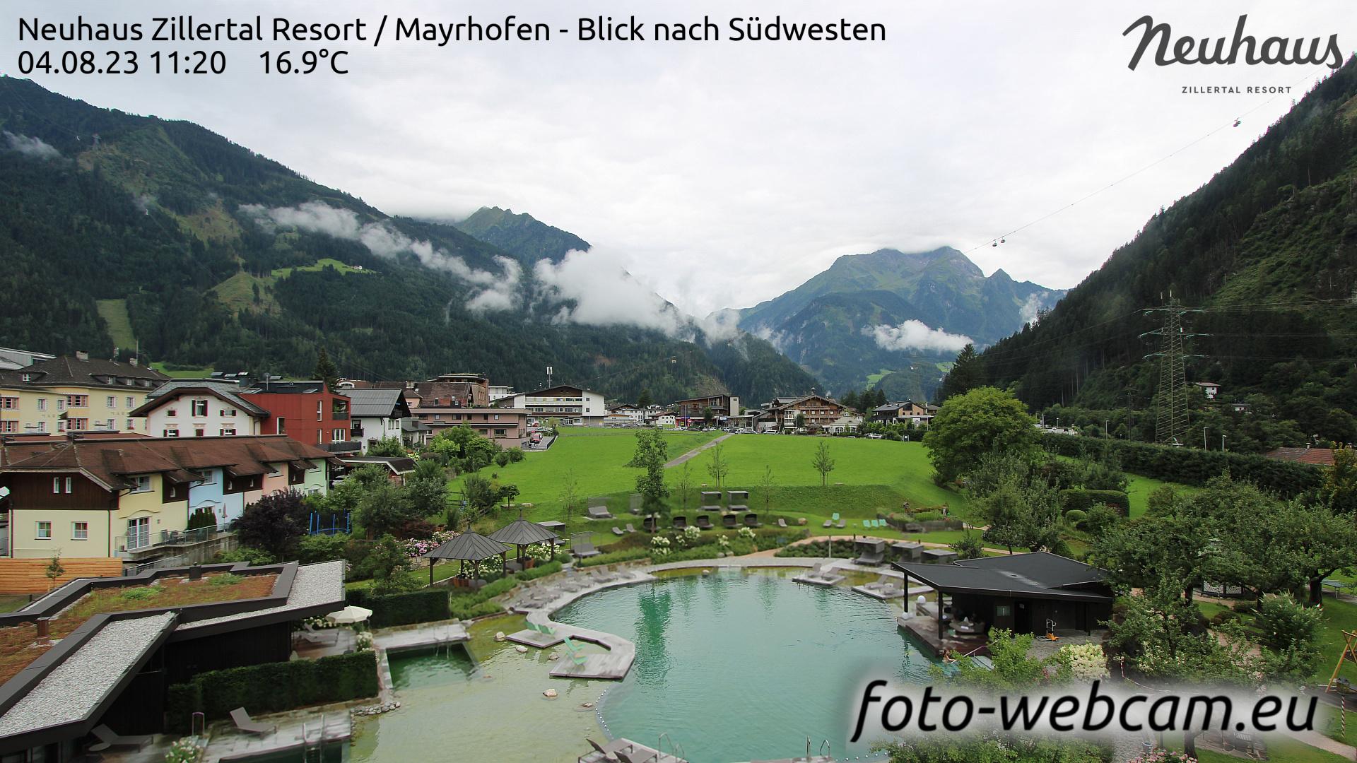 Mayrhofen Sun. 11:33