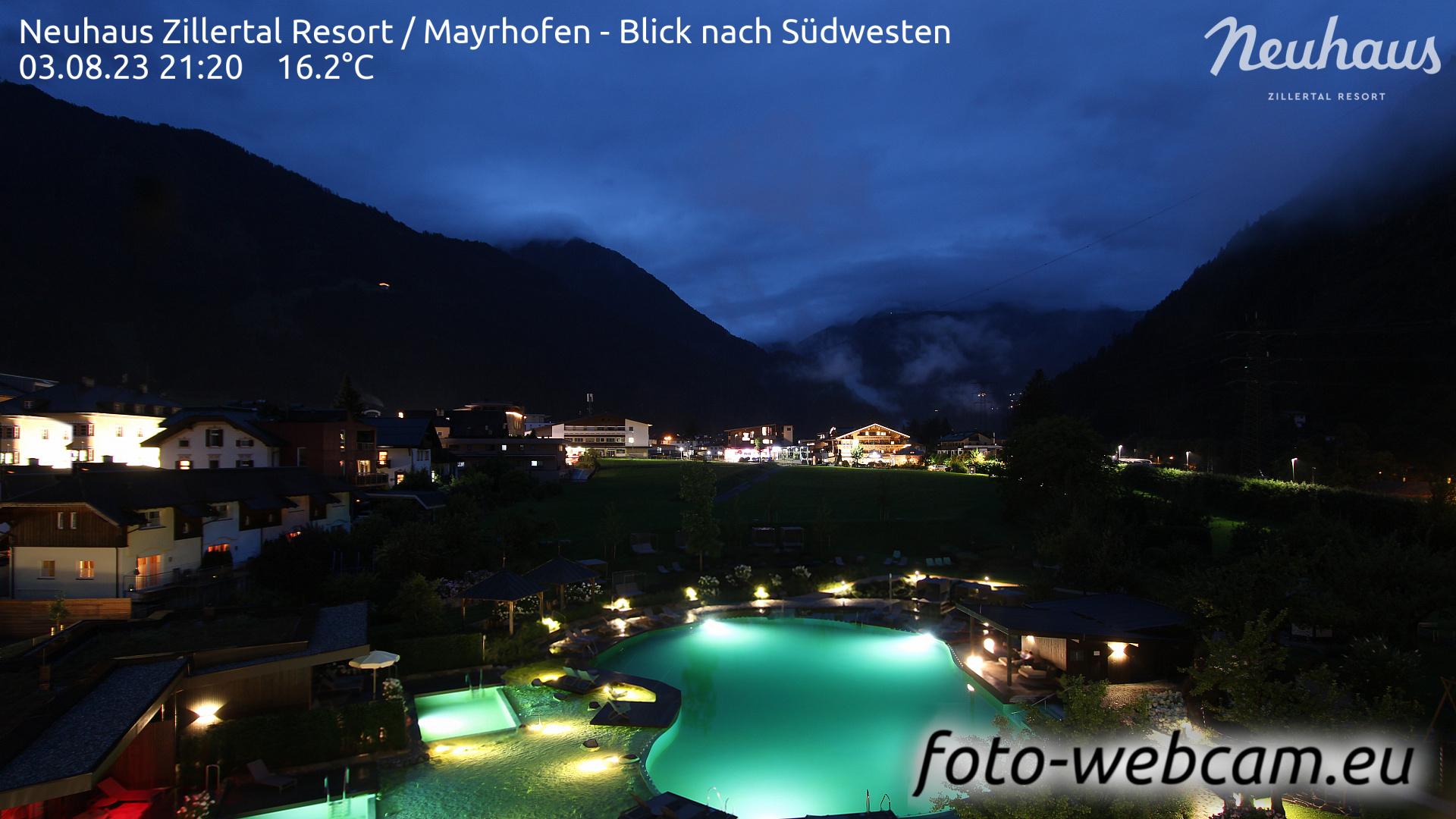 Mayrhofen Sun. 21:33