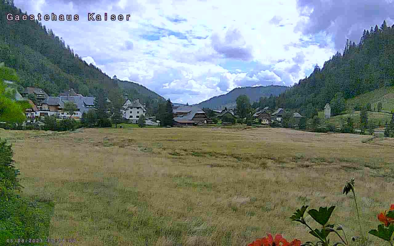 Menzenschwand-Hinterdorf Wed. 16:05