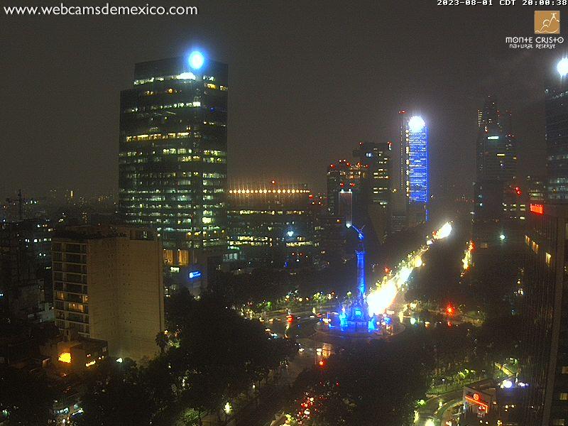 Mexico City Fri. 21:03