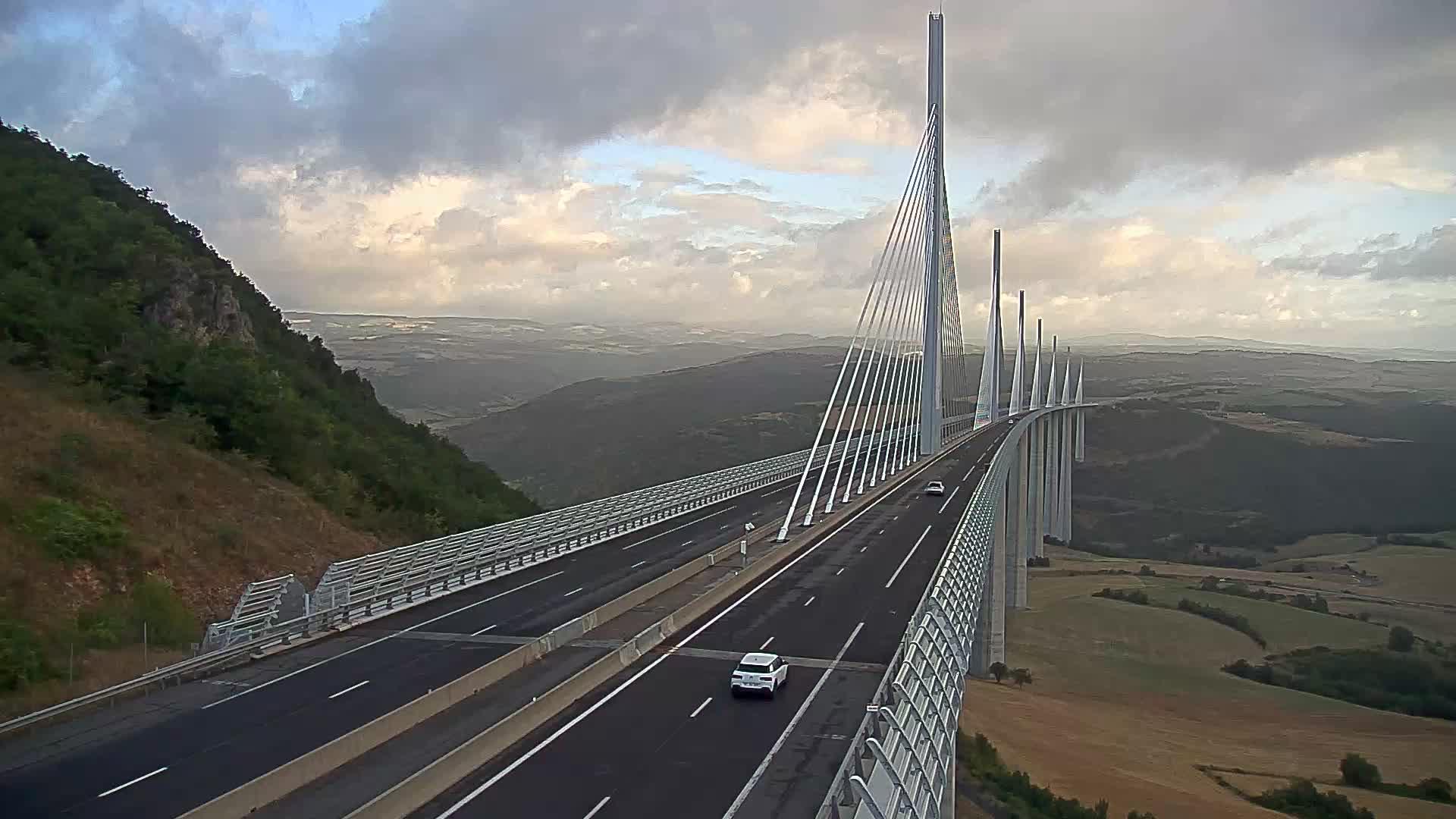 Millau Viaduct Wed. 07:49