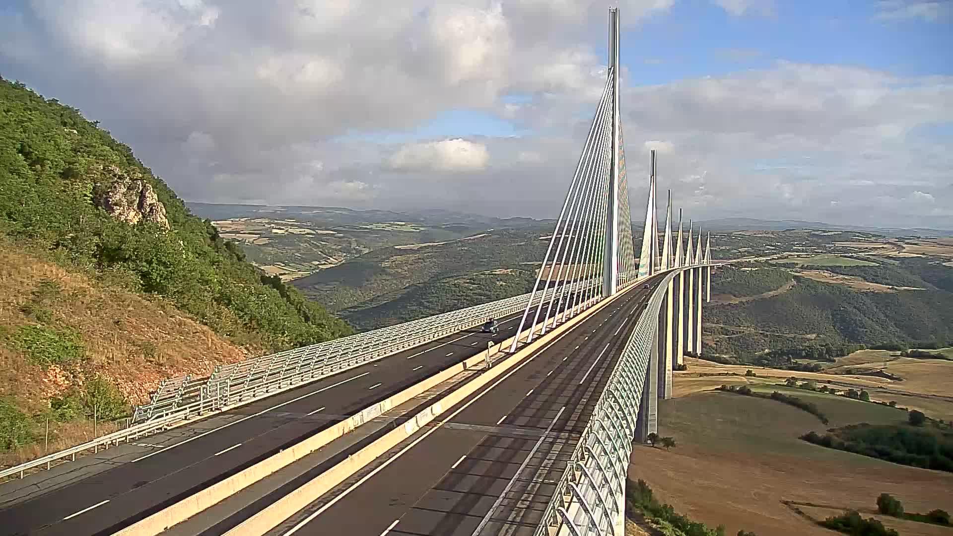 Millau Viaduct Wed. 08:47