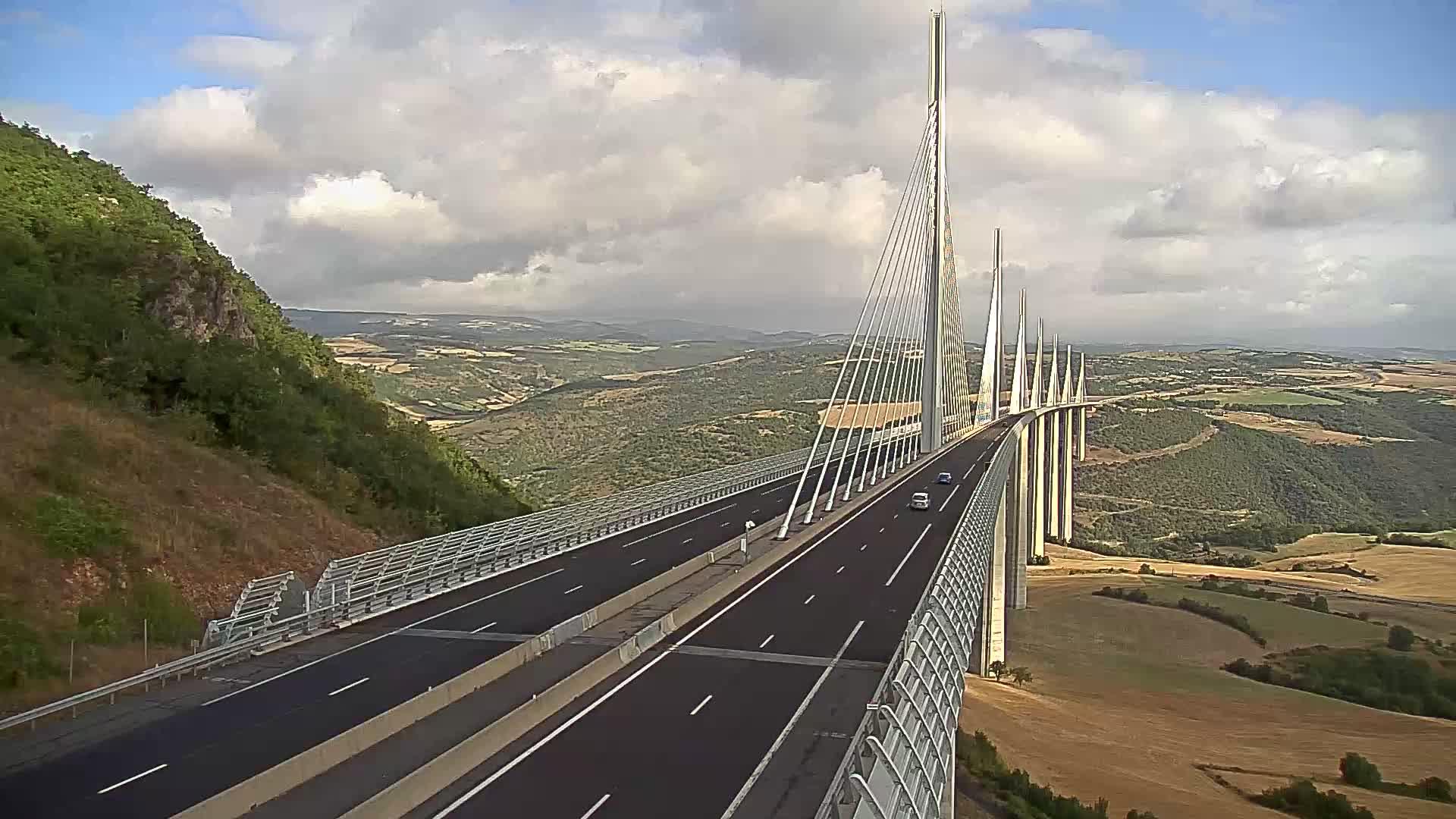 Millau Viaduct Wed. 09:49