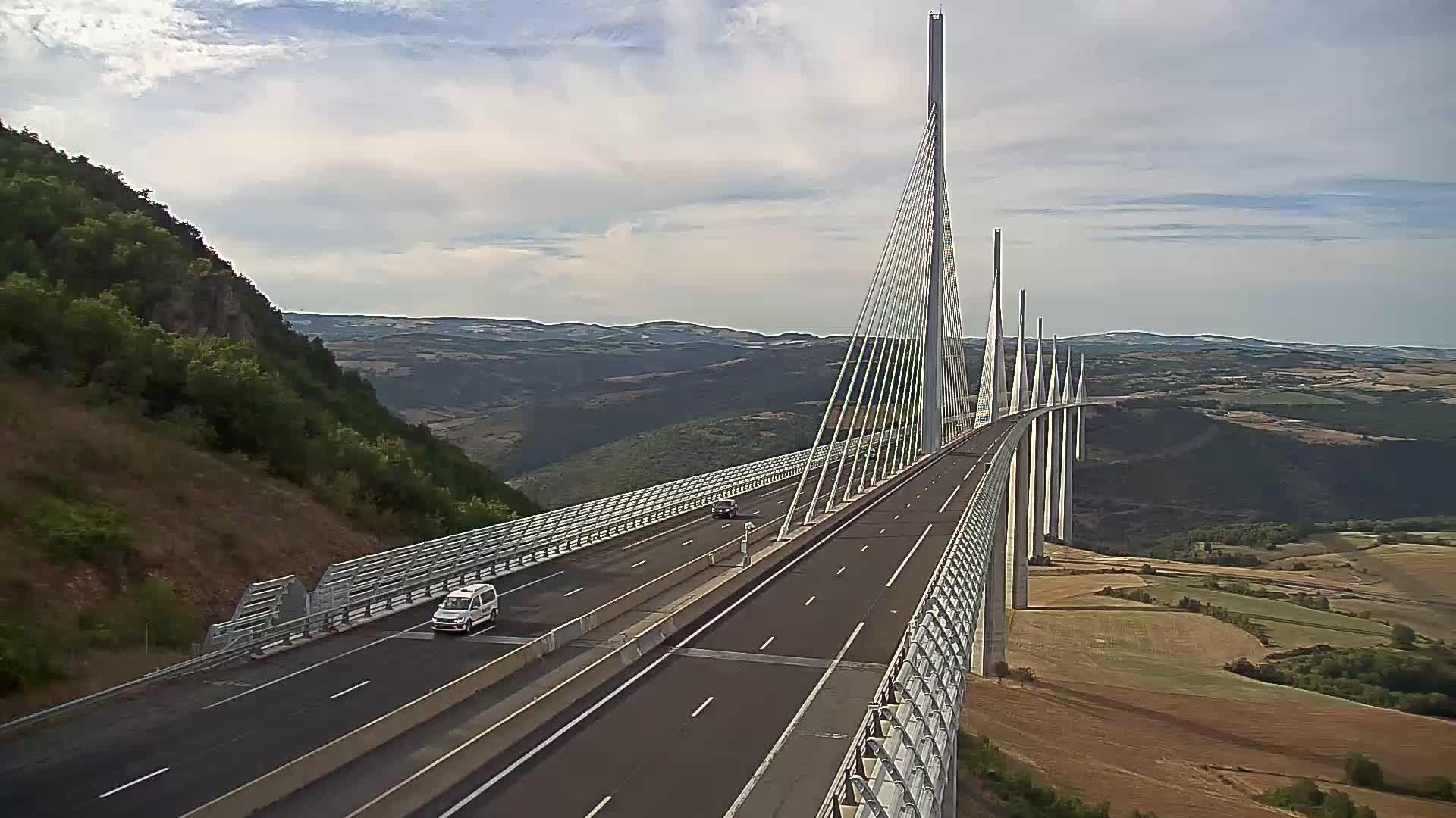 Millau Viaduct Tue. 18:47