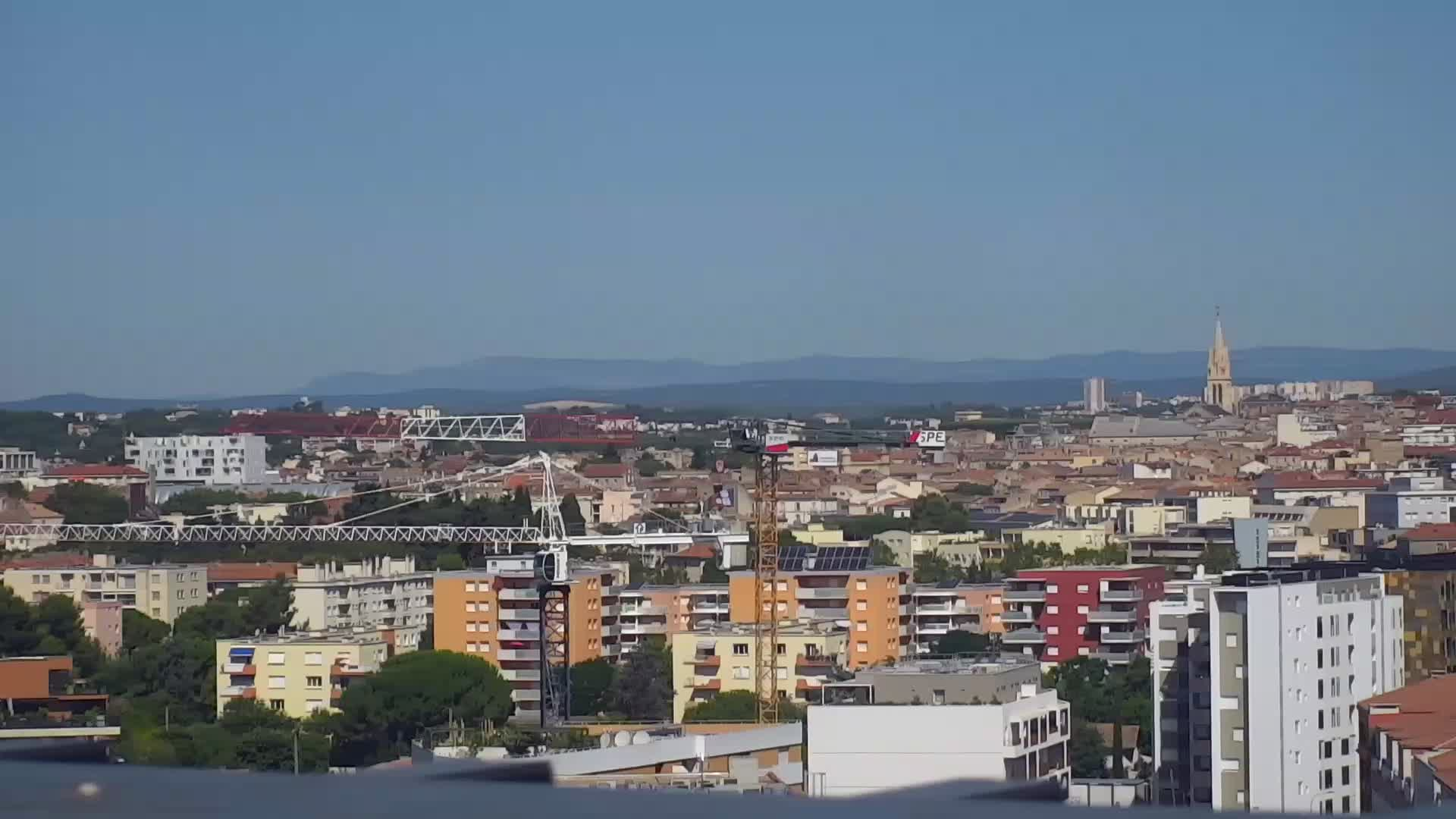 Webcam montpellier vista sopra montpellier - Meteo agricole montpellier ...