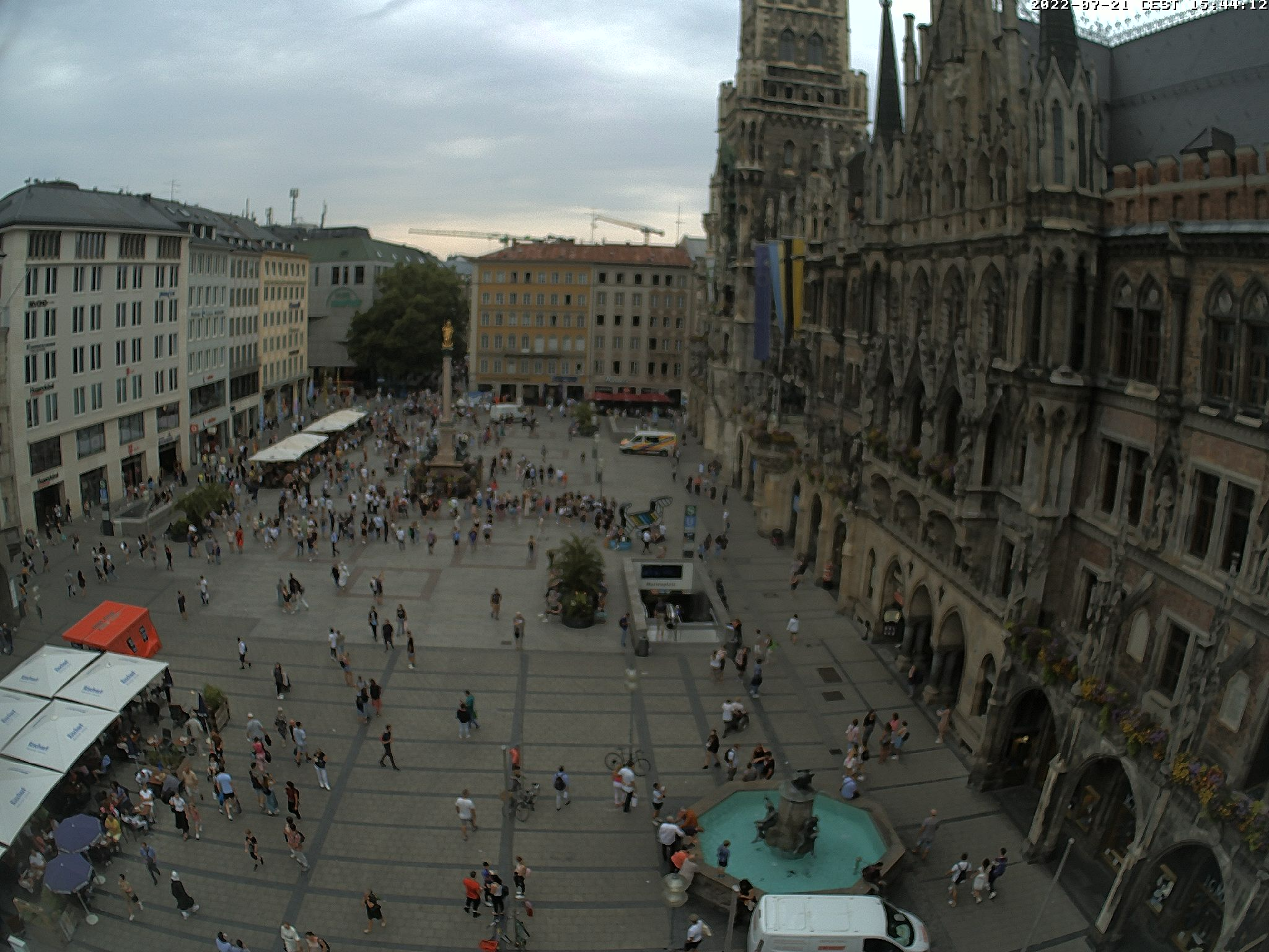 m nchen marienplatz panorama webcam galore. Black Bedroom Furniture Sets. Home Design Ideas