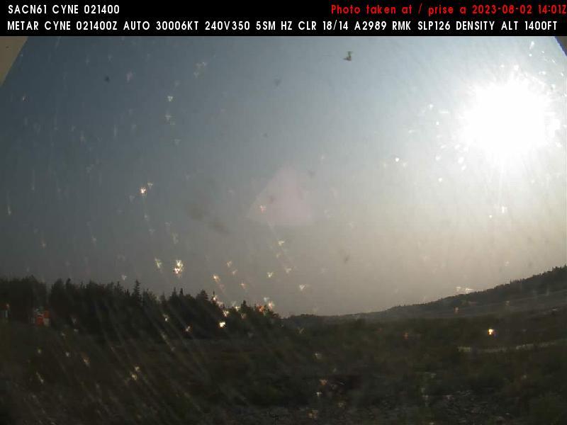 Norway House Sun. 09:14