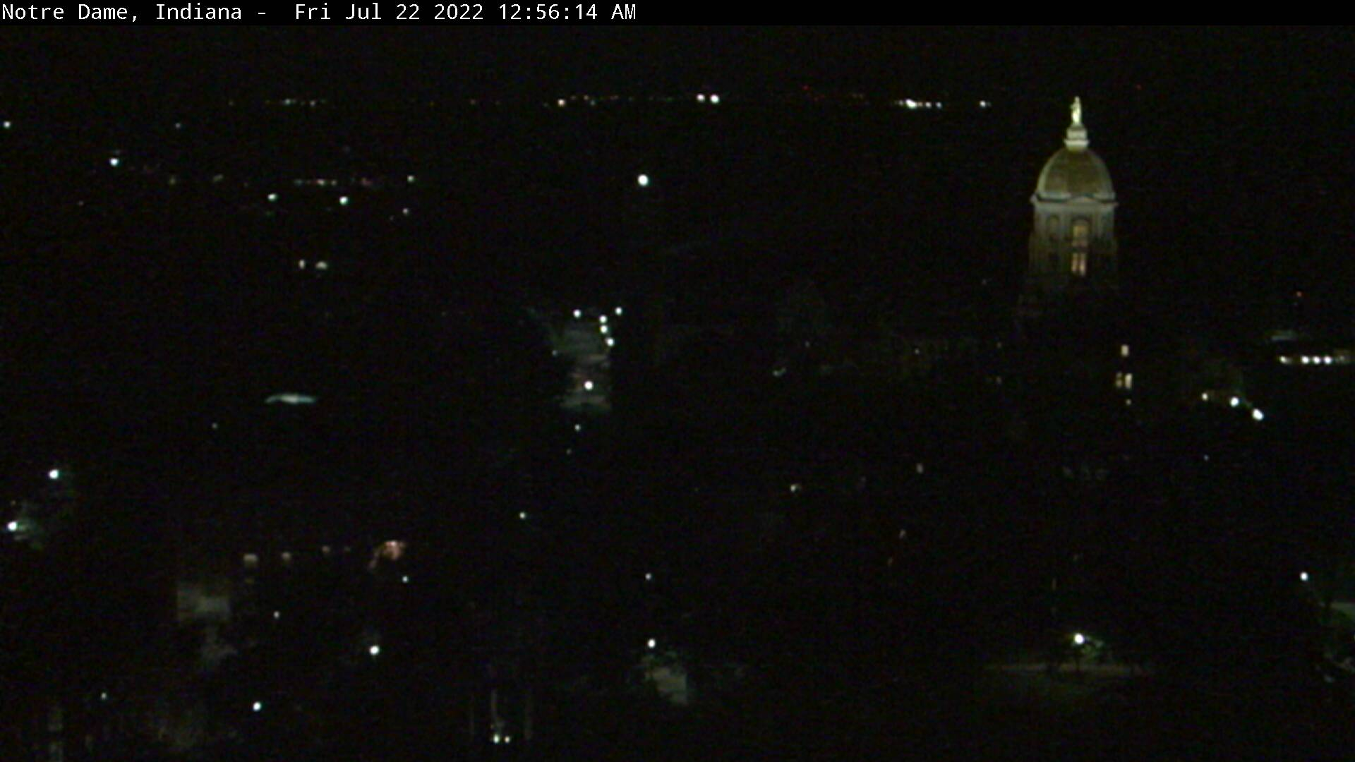 Notre Dame, Indiana Sat. 00:56