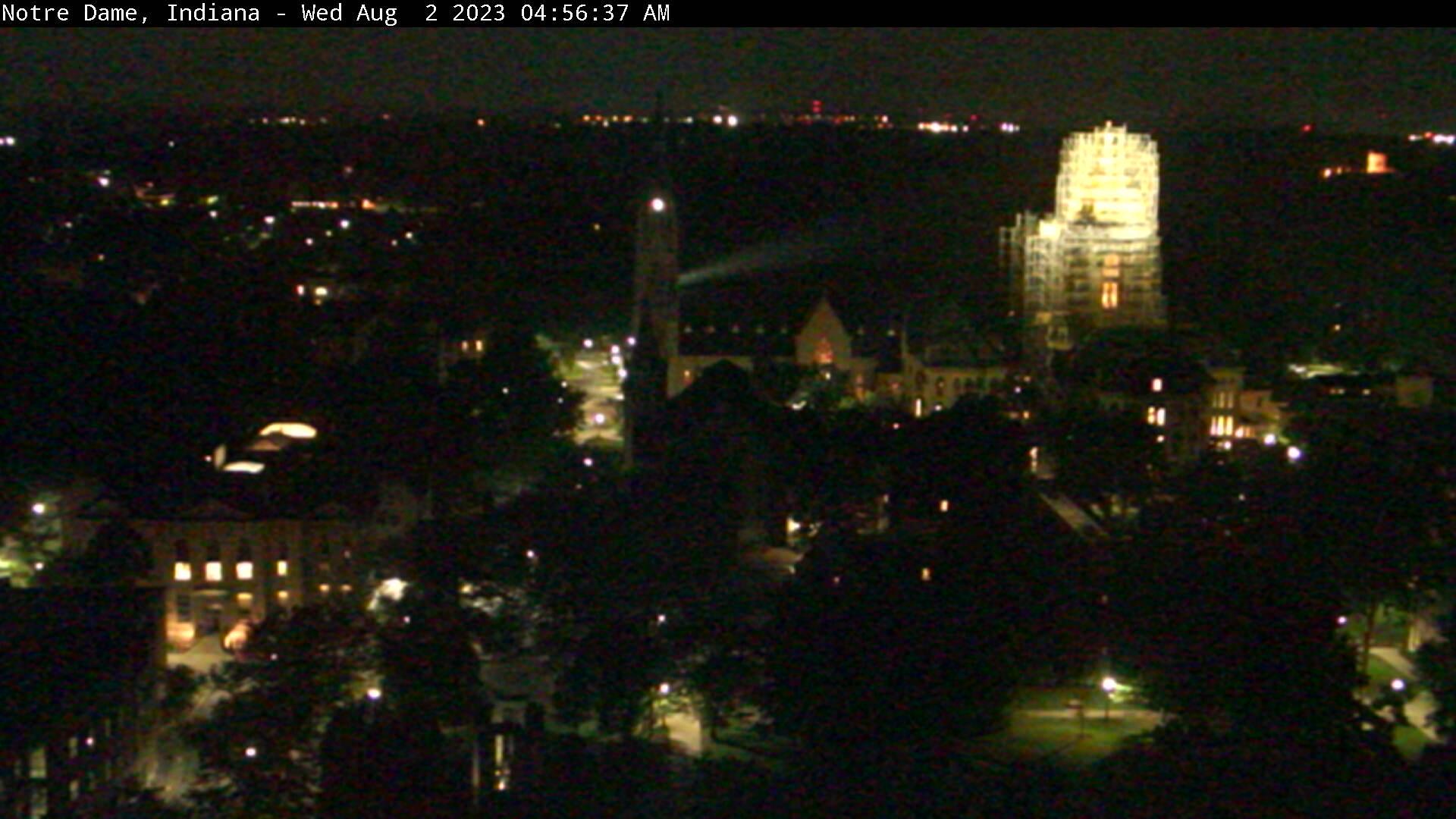 Notre Dame, Indiana Sat. 04:56