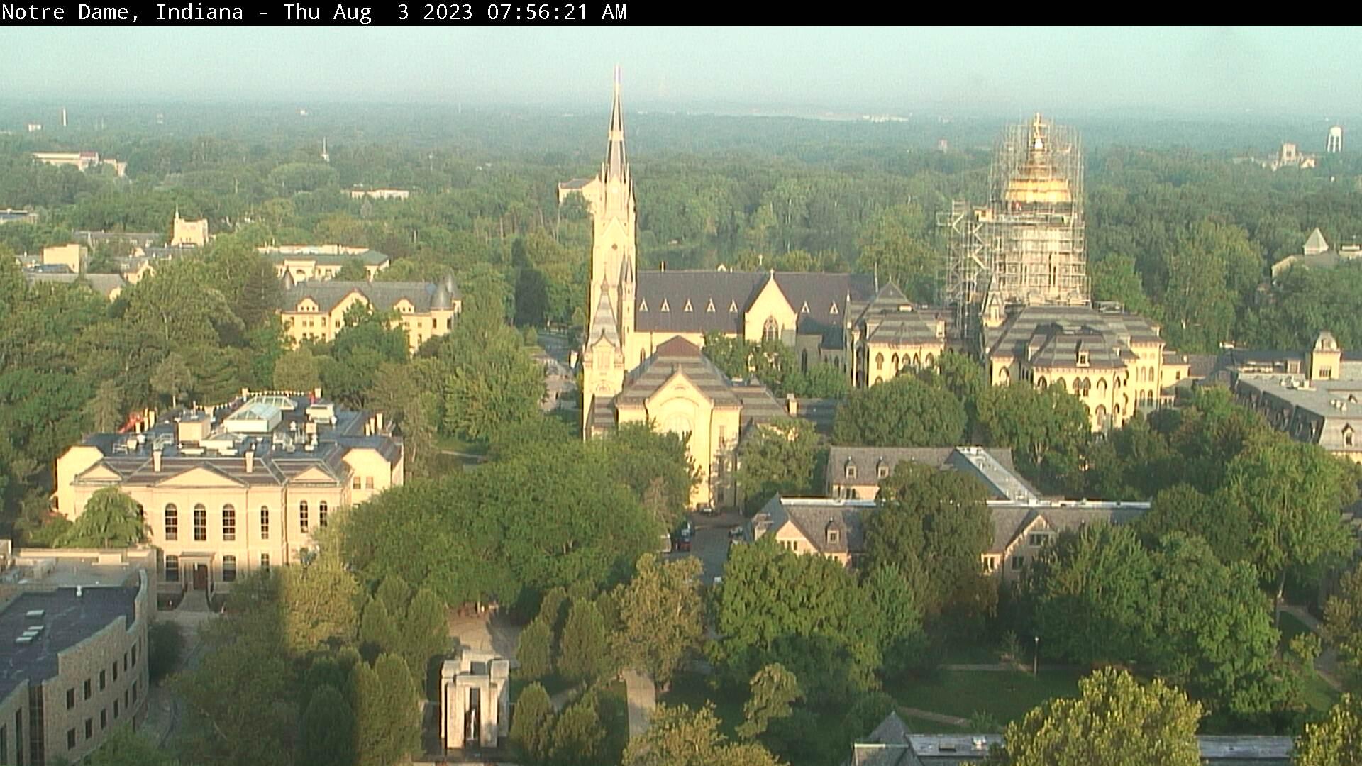 Notre Dame, Indiana Sat. 07:56