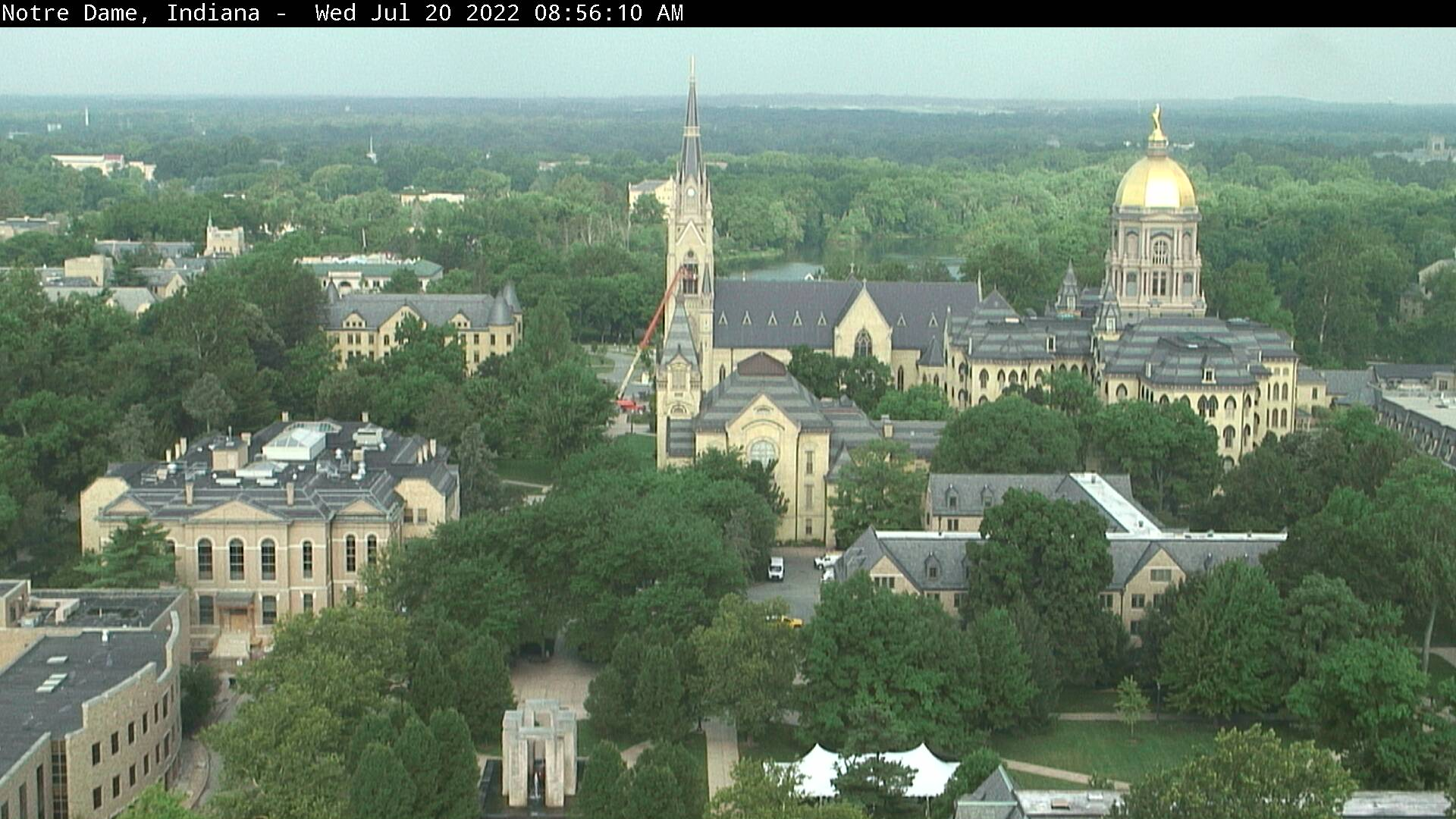 Notre Dame, Indiana Sat. 08:56