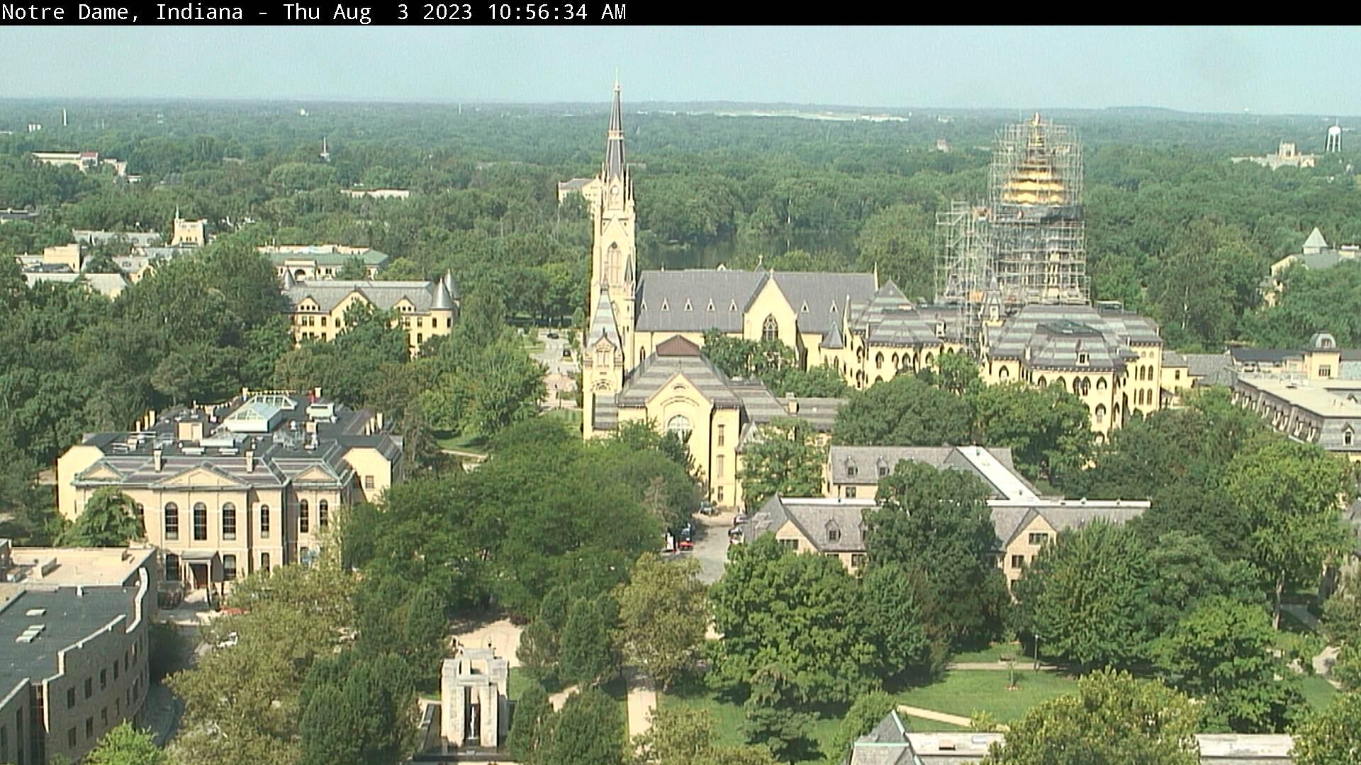 Notre Dame, Indiana Sat. 10:56