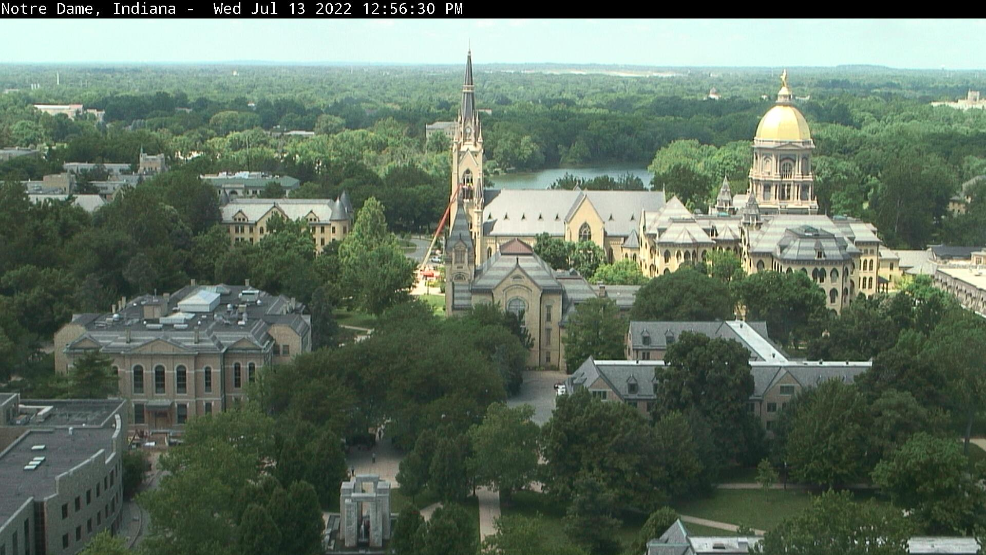 Notre Dame, Indiana Sat. 12:56