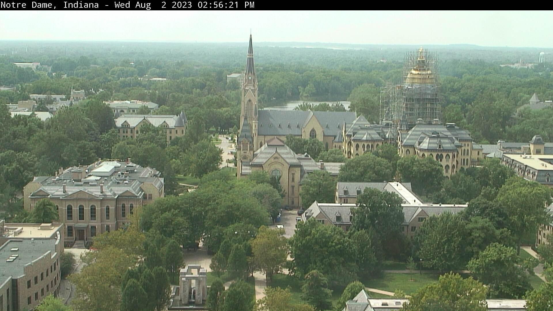 Notre Dame, Indiana Sat. 14:56
