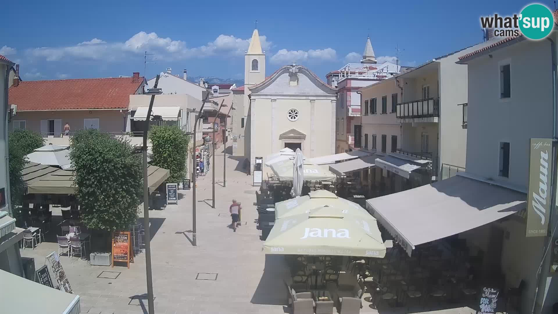 Novalja Webcam