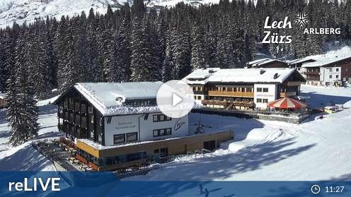 Live Webcam Oberlech: View of Oberlech