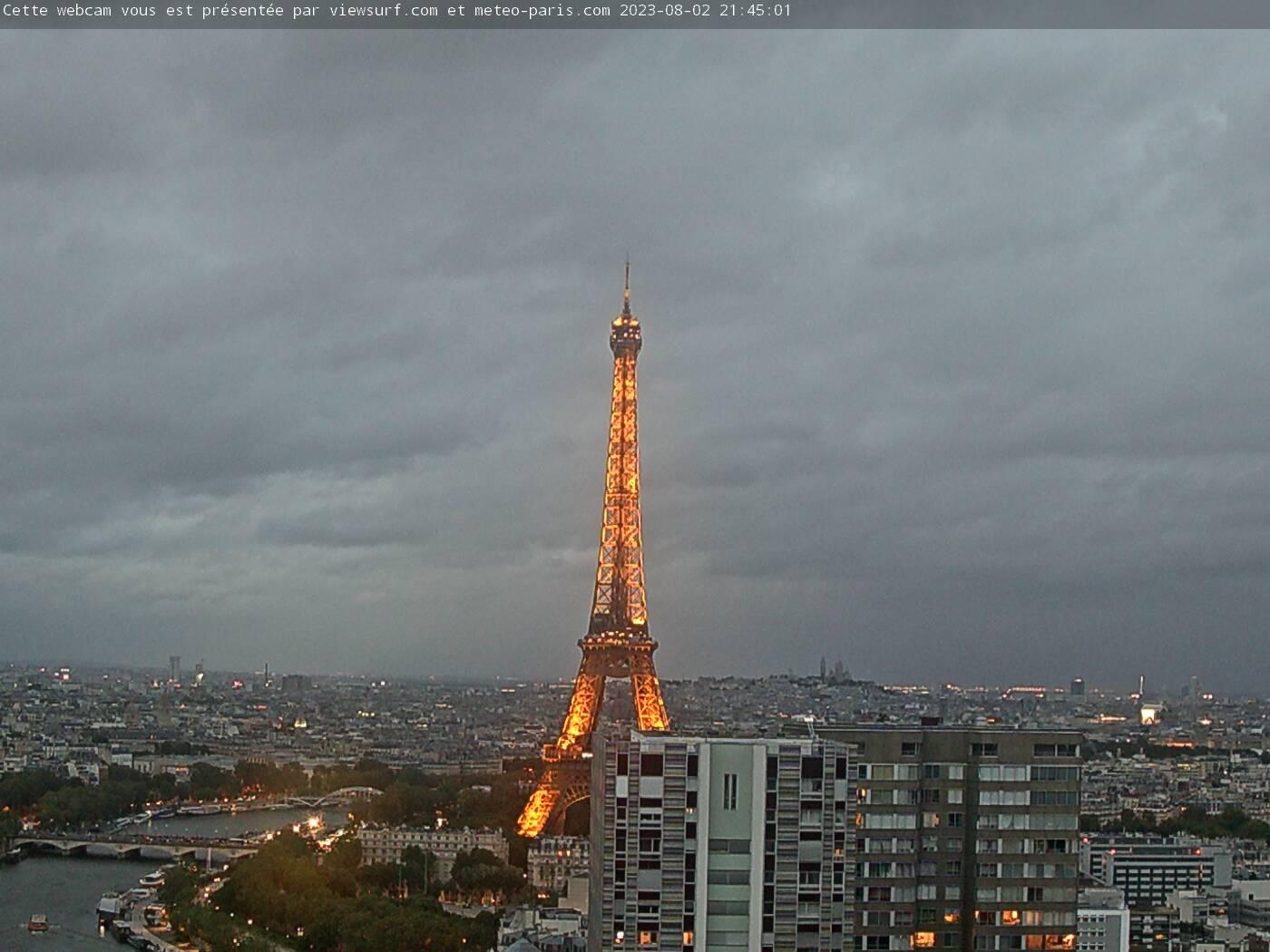 Webcam Eiffelturm