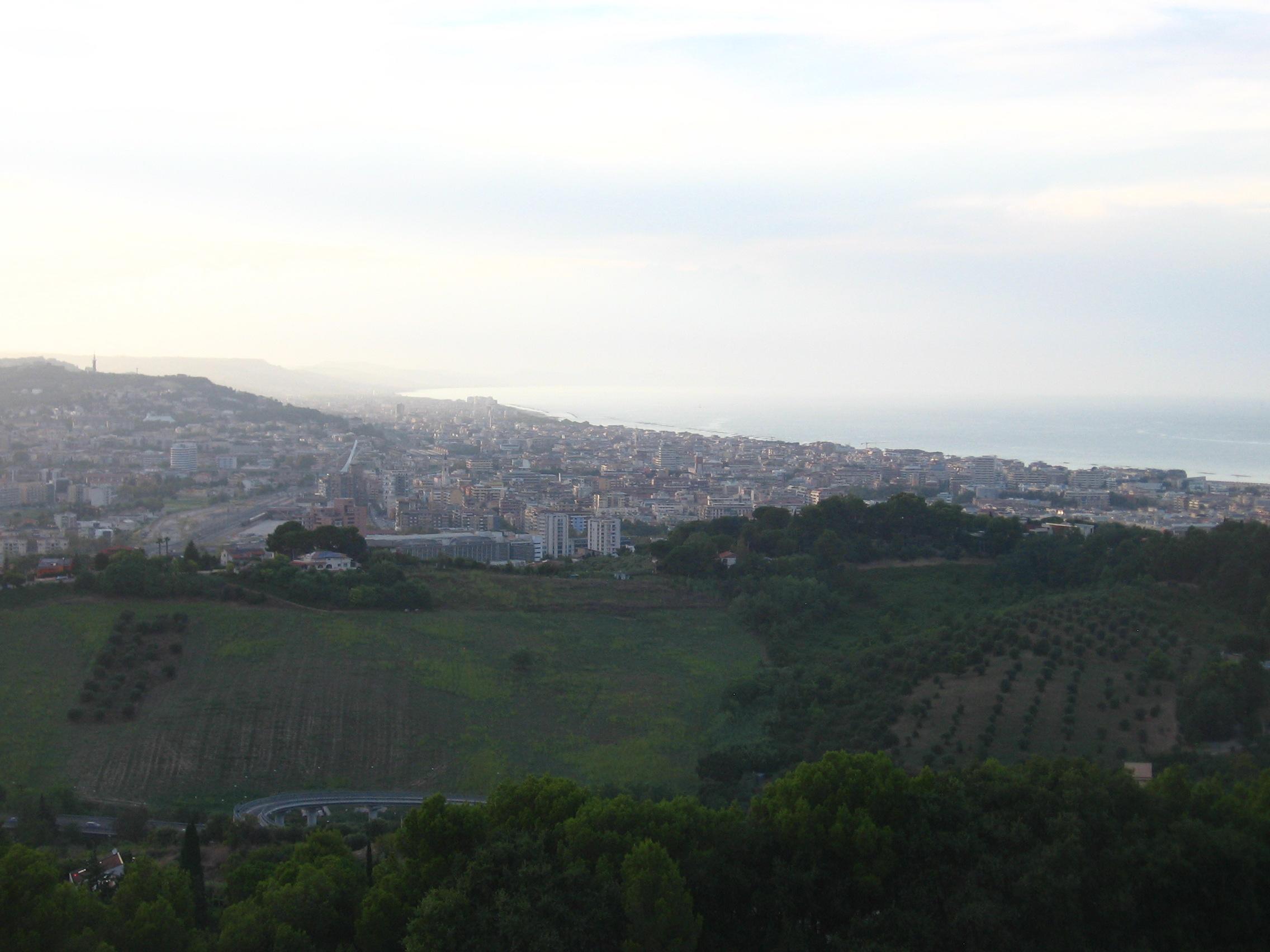 Webcam Pescara: View over Pescara