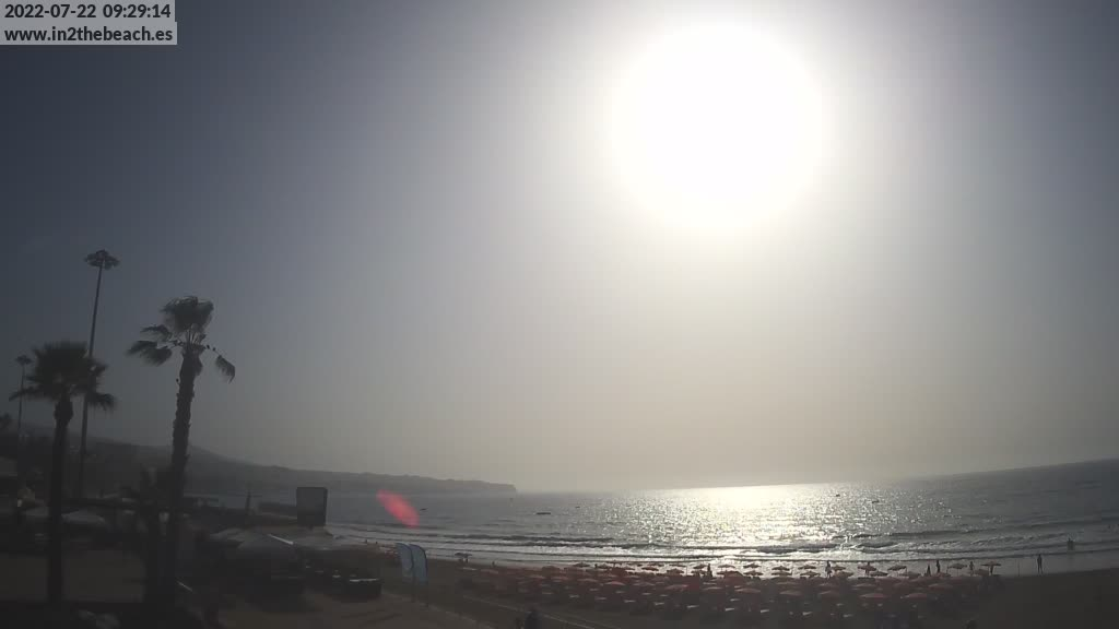 Playa del Ingles (Gran Canaria) Fri. 09:35