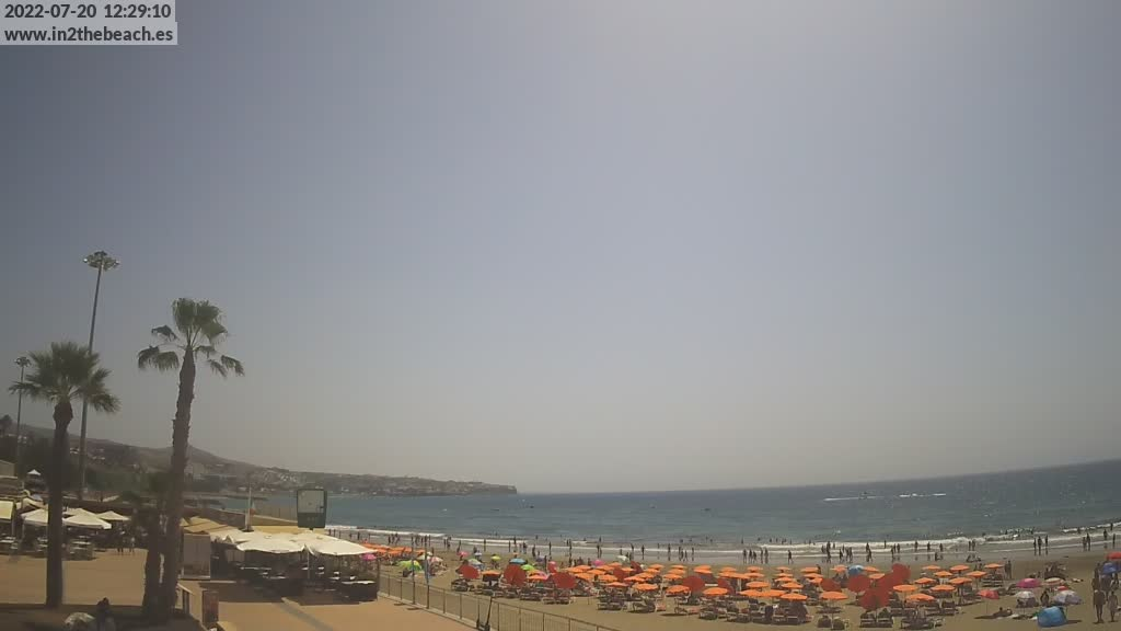 Playa del Ingles (Gran Canaria) Fri. 12:35