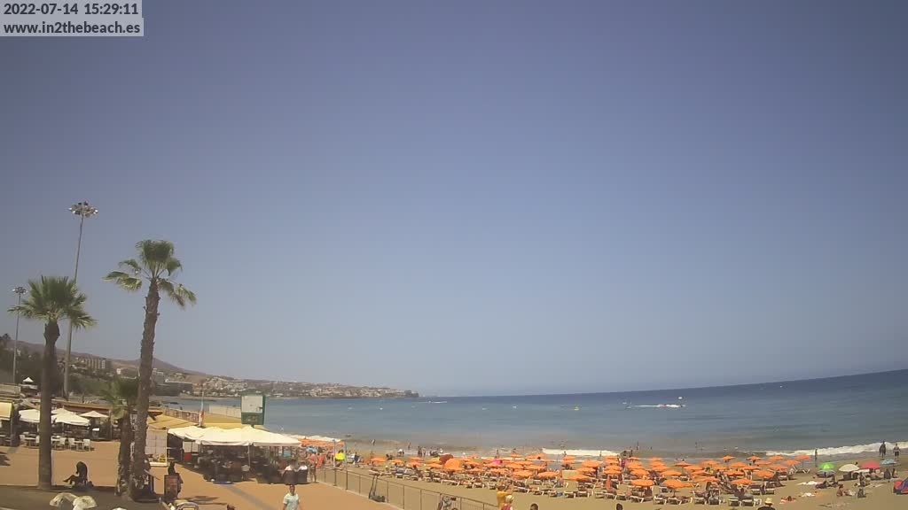Playa del Ingles (Gran Canaria) Fri. 15:35