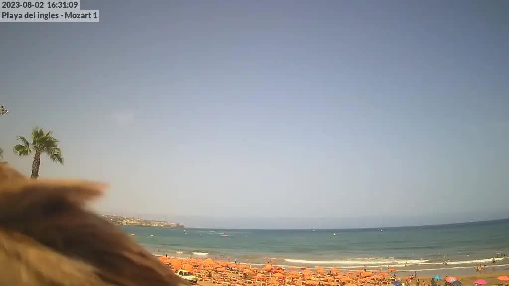 Playa del Ingles (Gran Canaria) Fri. 16:35