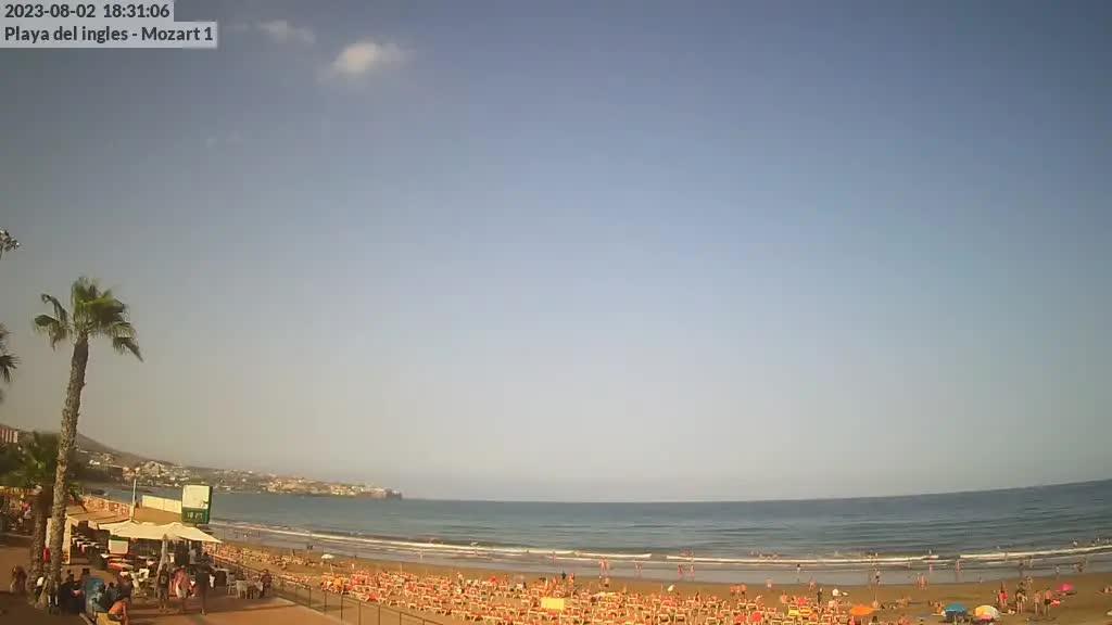 Playa del Ingles (Gran Canaria) Fri. 18:35