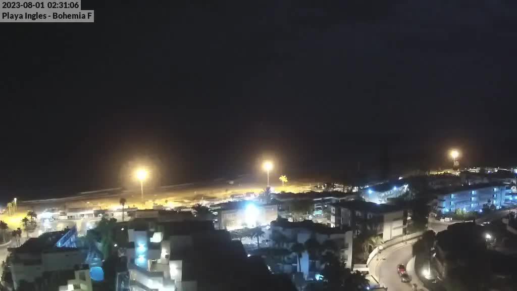 Playa del Ingles (Gran Canaria) Sat. 02:35