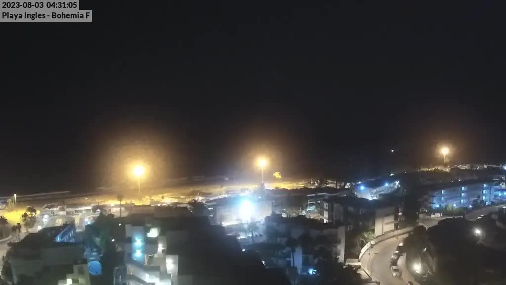 Playa del Ingles (Gran Canaria) Sat. 04:35