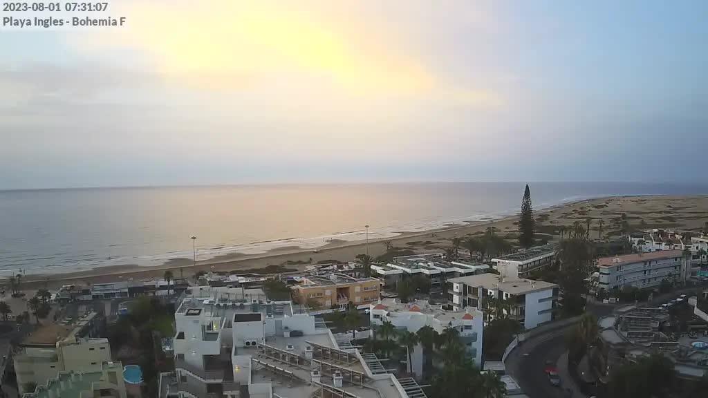 Playa del Ingles (Gran Canaria) Sat. 07:35