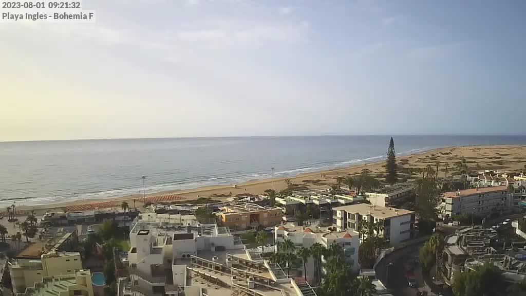 Playa del Ingles (Gran Canaria) Sat. 09:35